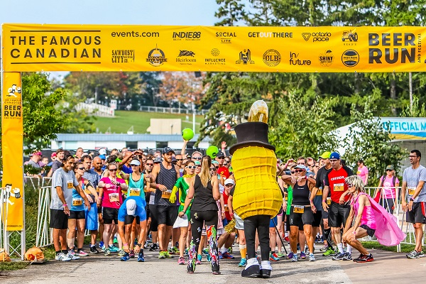 Starting at 10:30 a.m. (with additional wave starts every 30 minutes until 12:30 p.m.) runners and walkers will lace up for a scenic 5-kilometre run through ...